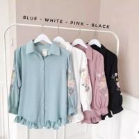 Tunik / Baju Atasan Wanita Remaja / Kemeja Tunik Serut Terbaru