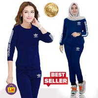 Setelan Baju Olahraga Senam Traninig Wanita New Adidas XXXL LMS 07764