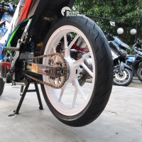 FDR SPORT MP 57 90/80-17 Ban Tubeless Balap Soft Compound Satria Sonic