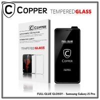Samsung J5 Pro - COPPER Tempered Glass FULL GLUE PREMIUM GLOSSY