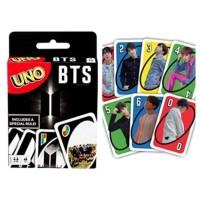 Mainan Kartu Card Game Cards Games Uno Polos Karakter BTS BT21 BT 21