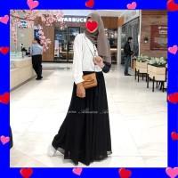 Rok / Panjang / Payung / Polos / Sifon / Chiffon / Umbrella Skirt
