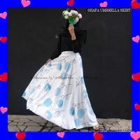 Rok Panjang Wanita Payung Muslimah Shafa Umbrella Skirt