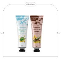 COCOTTEE depilatory cream aloevera dan depilatory cream cocoa butter b