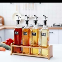 Botol Kaca Minyak Oil Vinegar Syrup Pourer Glass Bottle - 250 ml
