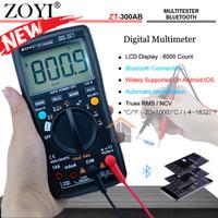 ZOYI ZT-300AB True RMS NCV Upgrade Auto Mutlitester Bluetooth Digital