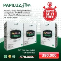 PAPILUZ FIBER SLIMMING BUY 2 GET 1 isi 30 PELANGSING DIET ORIGINAL
