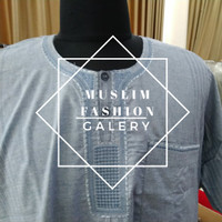 jubah asheel impor saudi lengan pendek/baju muslim original