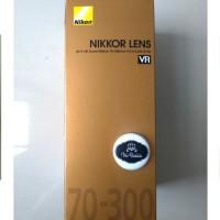 NEW Lensa Nikon Nikkor AF-S 70-300mm 70-300 mm f/4.5-5.6G IF-ED VR