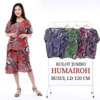 Setelan Kulot Jumbo Wanita / Baju Tidur Jumbo / Kulot Batik / Busui