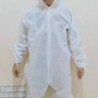 apd baju hazmat suit medis setelan seragam medis bahan sponbound 75gsm