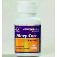 SLEEP CARE GREEN WORLD/OBAT INSOMNIA/OBAT TIDUR Murah
