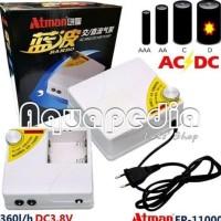 BEST SELLER ATMAN AC/DC AIR PUMP EP-11000 HARGA PROMO