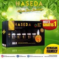 HASEDA HERBAL TETES ISI 5 BOTOL - Sari Buah & Sari Sayur (FAMILY)