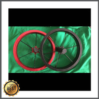 Promo Velg 12 inch untuk pushbike / balancebike Berkualitas