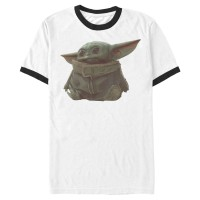 Baju Kaos Star Wars The Mandalorian The Child Portrait T-Shirt