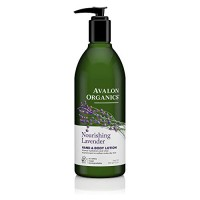 Avalon Organic Botanicals Hand and Body Lotion, Therapeutic, Lavender