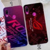 Hard case 3D fullprint ROG asus zenfone max pro m1 m2 3 max live 1 2