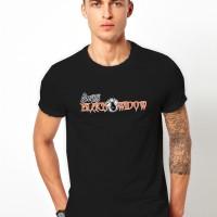 Kaos Baju T-shirt Distro Berts Black Widow FJ1268
