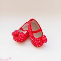 Sepatu Bayi Prewalker 0 - 12 bulan / Sepatu Bayi Balet / Polkadot