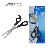 Gunting Sasak Stylish Stainless Steel / Gunting salon Gunting Zigzag M