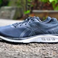 ORIGINAL Sepatu Lari ASICS GEL PROMESA BLACK MEN BNIB Terjamin