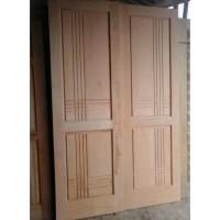 Daun Pintu single/Kamar Kayu Mahoni 210x80 Cm