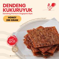 [PREMIUM] Rasa Honey / Original - 200 Gram - Dendeng Ayam Kukuruyuk