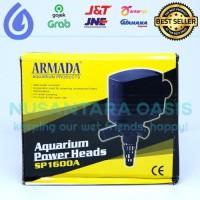 POMPA AIR CELUP AQUARIUM ARMADA SP-1600 A POWER HEAD SP 1600 A 1600A