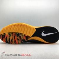 TERMURAH Sepatu Futsal Nike Original Lunar Gato II IC DK Smoke Grey