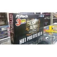 Dijual Motherboard Asrock H81 PRO BTC R2.0 LGA 1150 Murah