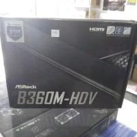 Promo Motherboard Asrock B360M-HDV DDR4 LGA 1151 Diskon