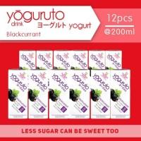 Heavenly Blush Yoguruto Blackcurrant [12 pcs x 200ml]