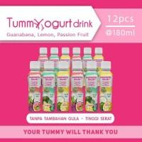Heavenly Blush Tummy Yogurt Drink Sugar Free All Variant 12x180 ml