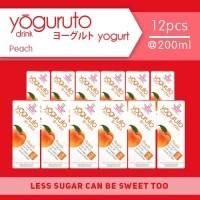 Heavenly Blush Yoguruto Peach [12 pcs x 200ml]