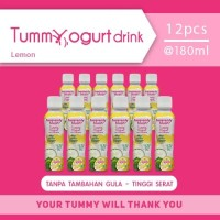 Heavenly Blush Tummy Yogurt Drink Sugar Free Lime [12 pcs x 200ml]