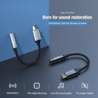 Type-c to 3.5mm digital audio decoding adapter DAC HiFi NILLKIN - Silver