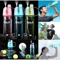 Botol Air Minum SEMPROT SPRAY Water Bottle Sport New B 600 ml