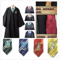 Kostum Halloween PAKET HEMAT! Jubah + Dasi Harry Potter