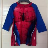 baju kaos anak keren Spiderman marvel
