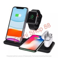 4 in 1 Apple Fast Wireless Charger Charging Dock Stand iphone watch 3