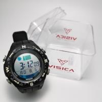 jam tangan digital sport remaja dewasa water resist visica skmei casio - Hitam