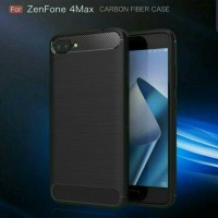 Softcase Slim Fit Carbon Ipaky Asus Zenfone 4 Max Pro 5.5 Soft Case