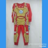 BAJU ANAK LAKI PIYAMA ANAK LAKI IMPORTREADY SZ 2 - Sz 2 Iron Man