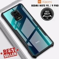 Clear Case Note 9 Pro - Softcase Shockproof Xiaomi Redmi Note 9 Pro