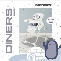Kursi Makan Babydoes Diners / Highchair Babydoes - Winter Family