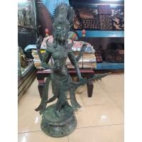 Patung Dewi Saraswati Unik Bagus