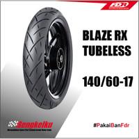 BAN MOTOR FDR BLAZE RX 140X60-17 TUBELESS RADIAL
