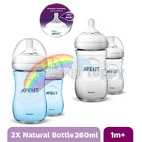 Botol avent natural 2.0 twin pack 260 ml