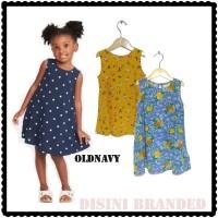 Dress anak UCS Old Navy motif Mix baju anak murah branded